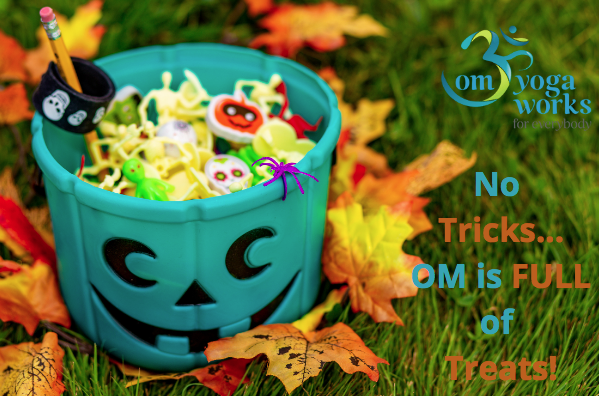 Om Newsletter - No Tricks... Om is Full of Treats Image